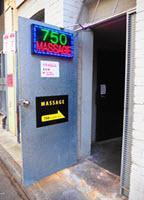 Sydney CBD 750 George Street Massage Rear Door Parker Lane
